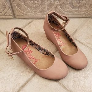 Jellypop size 12 dusty rose wedges